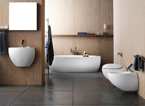 Träinspirerat badrum från DuoBad