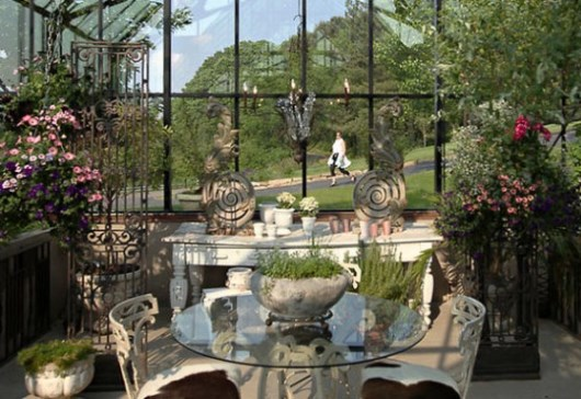 Orangeri från garden Greenhouse