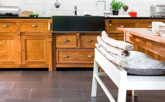 Korkgolv från Golvabia i köket