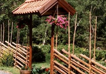 Gärdsgårdar, grindar och portaler från Haddebo