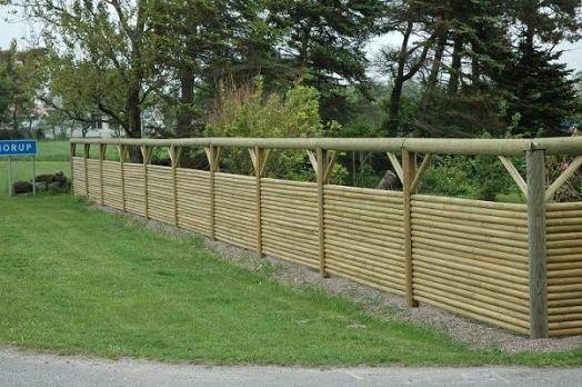Ett äkta Morup-staket från LBF Stängsel