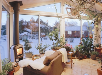 Vinterträdgård från Novoroom