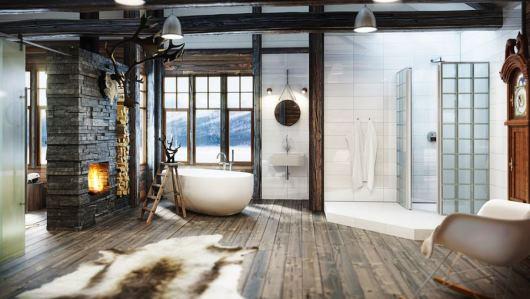 Romantiska badrum med stil och finess