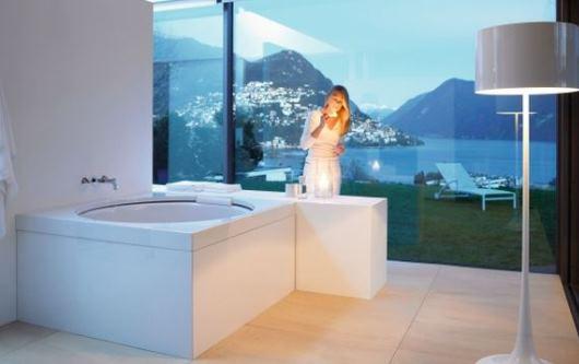 Romantiska badrum