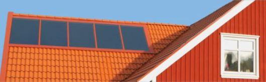 Solpaneler från Värmebaronen