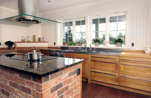 Brandéns panelskivor i köket