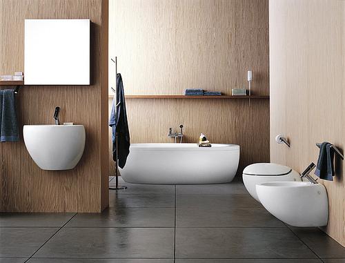 Ett välplanerat badrum