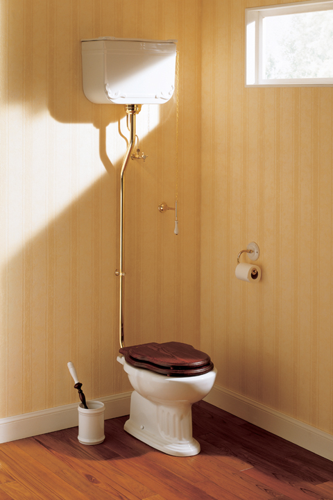 Toalettstol i gammaldags stil från Freese Bruno
