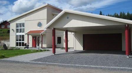 Garage och carport från Lövångers Bygg