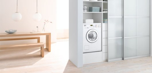 Tvättstugeinredning från Miele