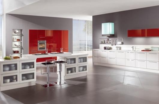 Färgglatt kök från Noblessa