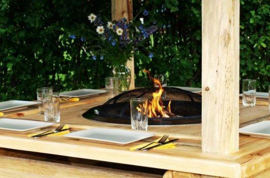 Härlig grillmöbel från Nordanlids rustik