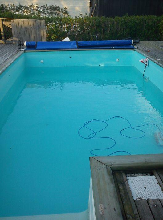 starta upp poolen efter vintern