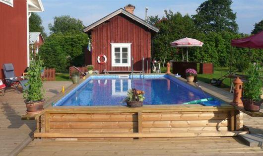 Ovanmarkspool från Svenska poolfabriken