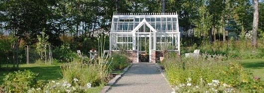 Växthus i Gustaviansk stil från Vansta Trädgård