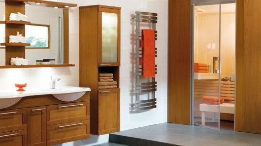 Varmare badrum med trä Badrumsportalen