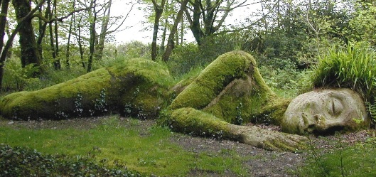 Bilden är hämtad från Heligan Gardens hemsida