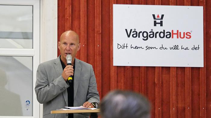 Invigning av ny lokal hos VårgårdaHus
